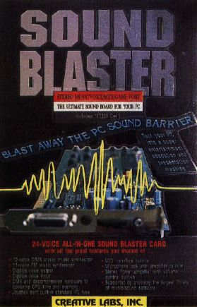 Compute! Choice: Blast The PC Sound Barrier With This Creative Card